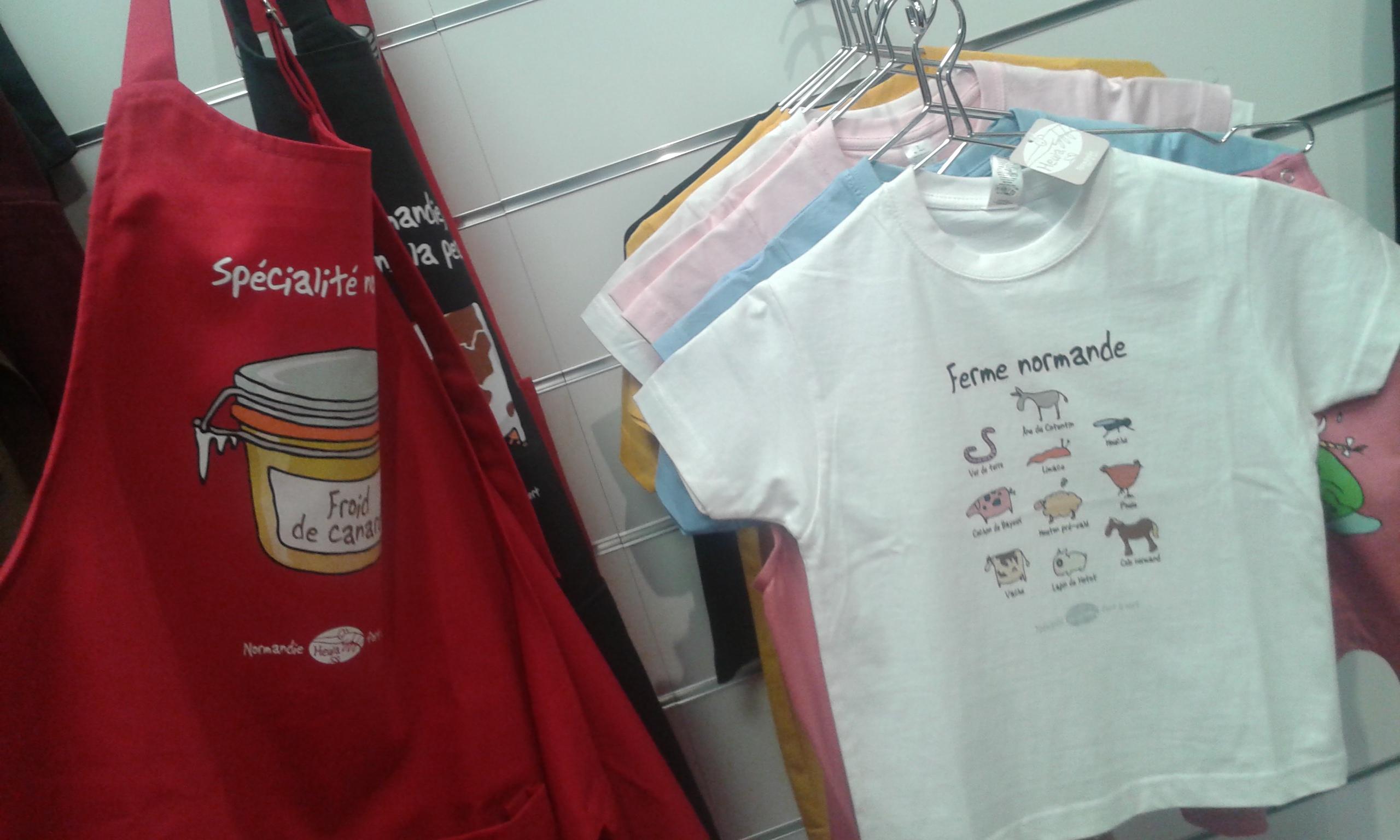 Tablier et t-shirt enfant - Office de Tourisme Forges les Eaux