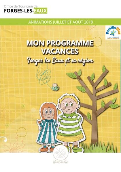 Programme Vacances 2017