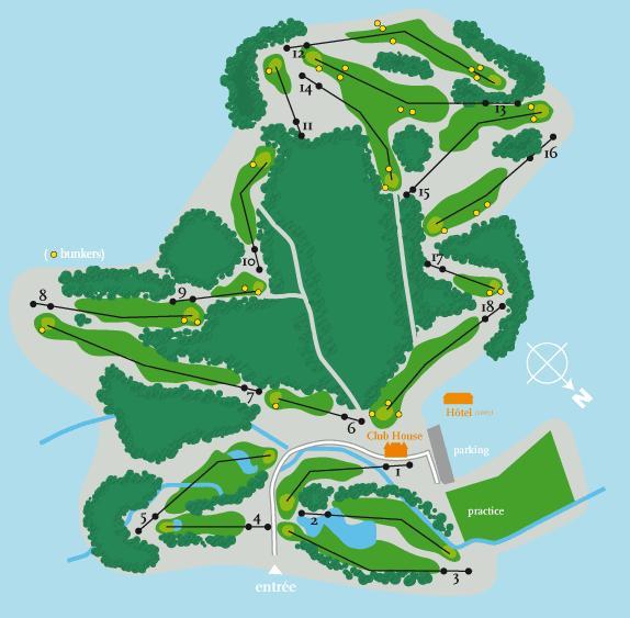 Parcours de Golf de Saint-Saëns
