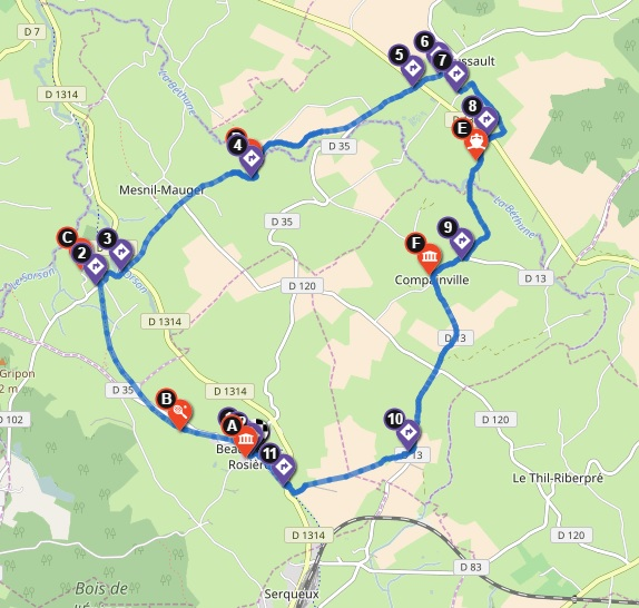 randonnée Beaubec-la-Rosière